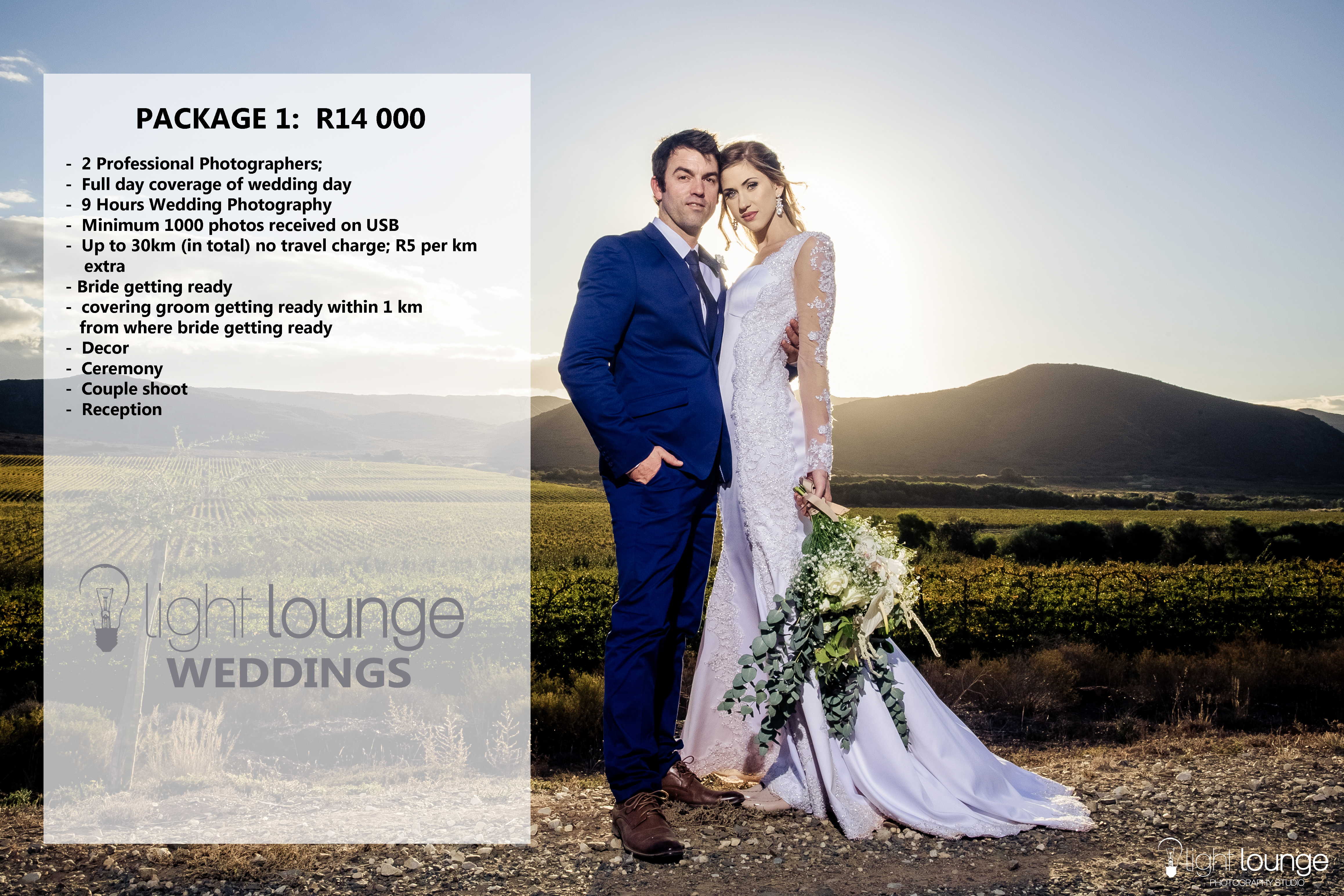 Wedding Photography Packages.Pricing 2018 2019 Nelis Engelbrecht